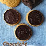Cookie choc alla cannella, zenzero e cioccolato fondente
