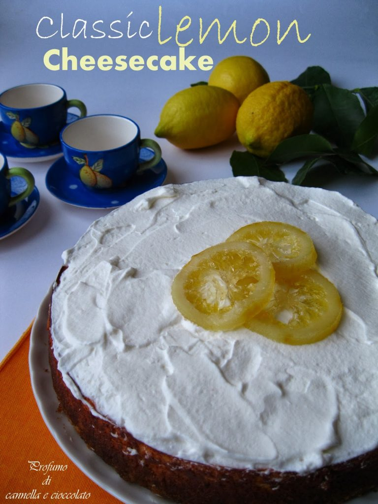 Re-cake – Classic lemon cheesecake