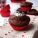 Un amore di cupcake – Cupcake alla rapa rossa con crema alla ricotta e nutella