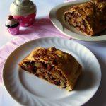 Strudel pere, cioccolato e zenzero con pasta matta