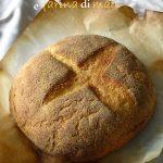 Pane con polenta e farina di mais