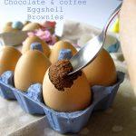 Eggshell brownies.. Ovvero i brownies nei gusci di uova!!