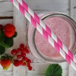 Smoothie ai frutti di bosco nel blog The womoms