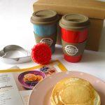 Pancakes con panna e Love bakery!!!