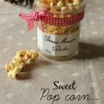 #dolcidoni – Pop corn dolci