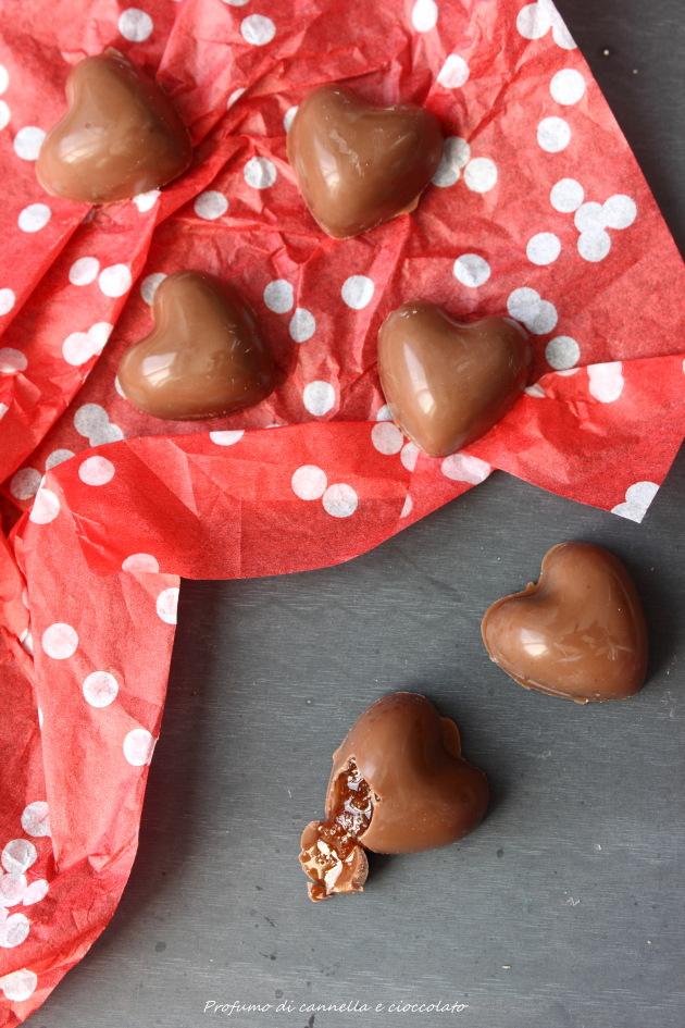 cuori al cioccolato e caramello 3