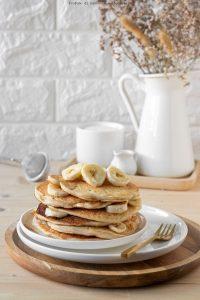 Pancakes allo yogurt senza uova