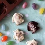 Bon bons al doppio cioccolato e nocciole