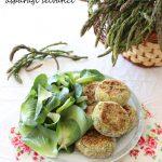 Polpette vegetariane con ceci, patate e asparagi selvatici