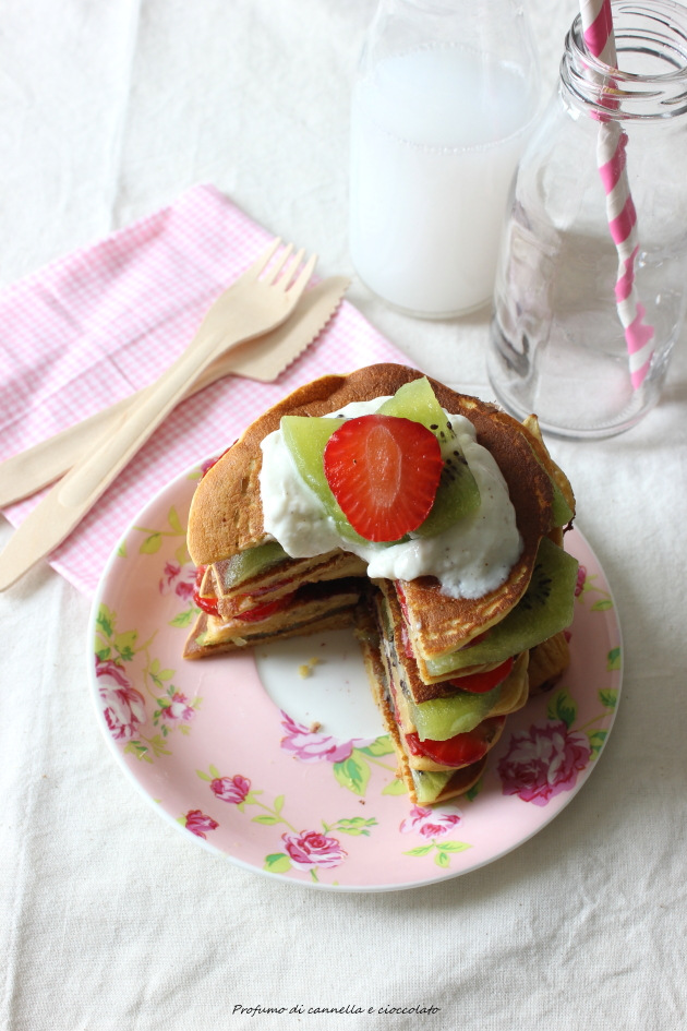 pancakes proteici 3