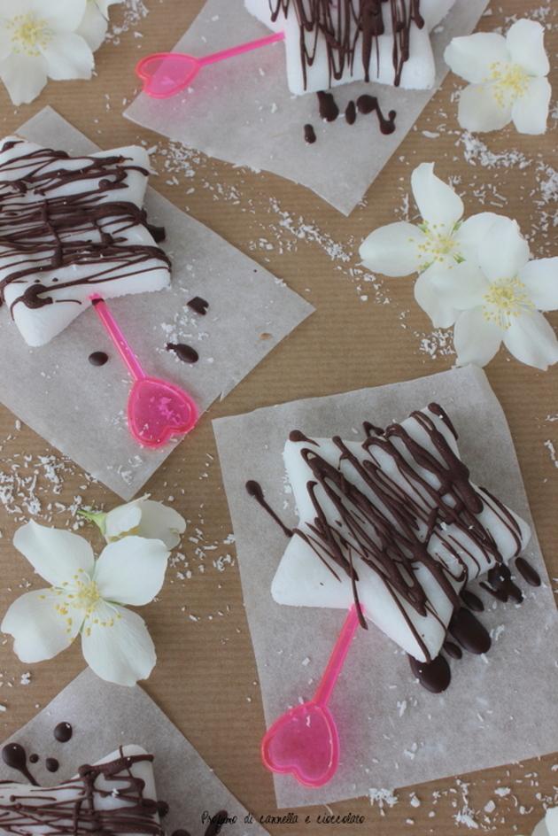 1 ghiaccioli latte di cocco e cioccolato fondente 5