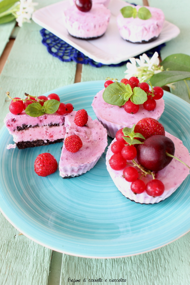 No-bake berry cheesecake 2