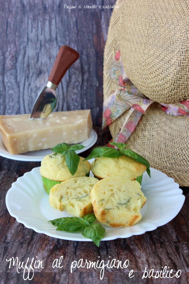 muffin salati parmigiano e basilico 4