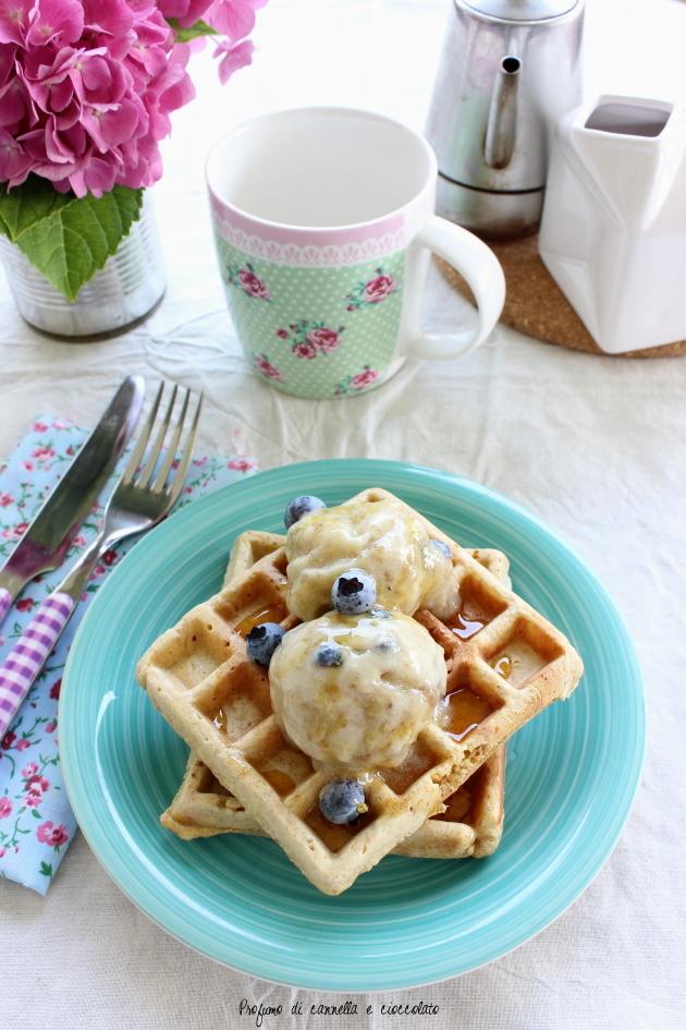 waffles integrali con nana icecream 5