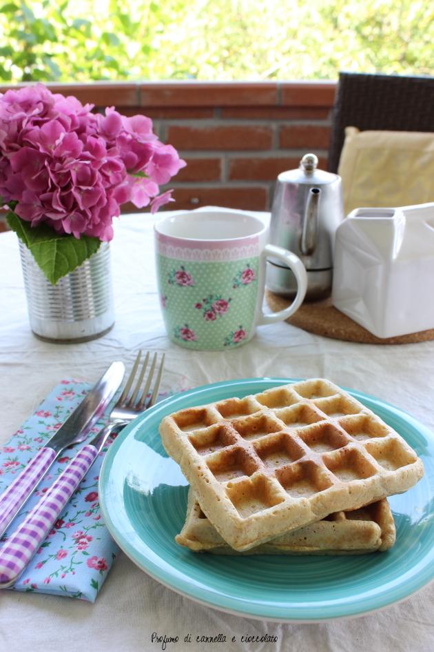 waffles integrali con nana icecream 6
