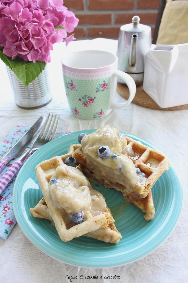 waffles integrali con nana icecream 7
