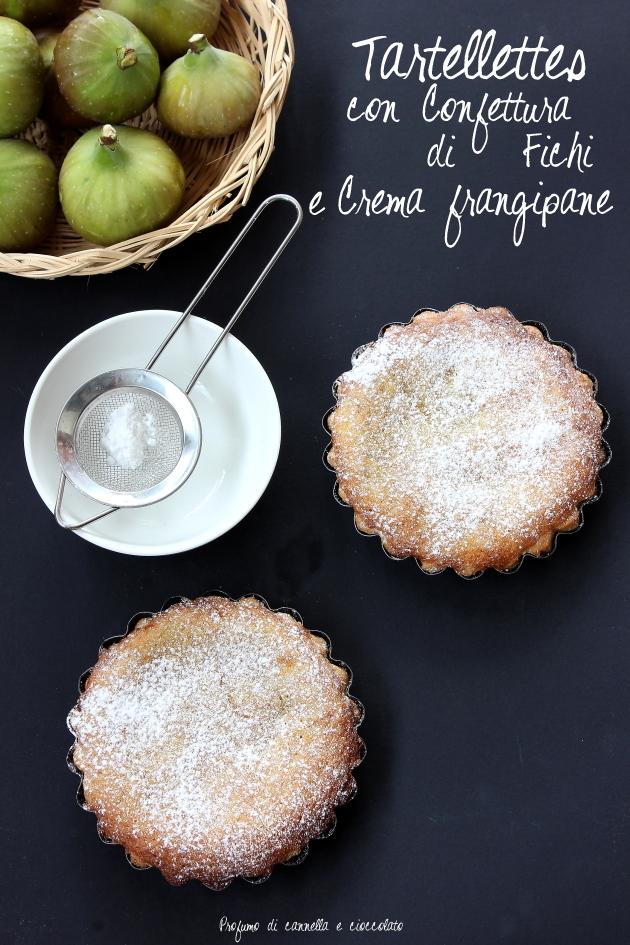 bakewell tart con confettura di fichi e crema frangipane 6