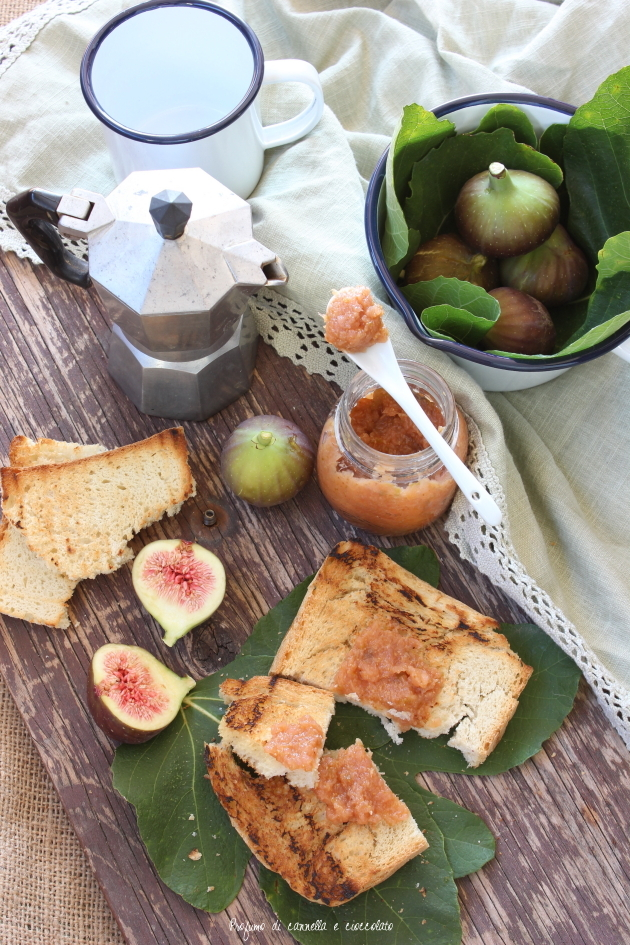 confettura mele e fichi senza zucchero (5)