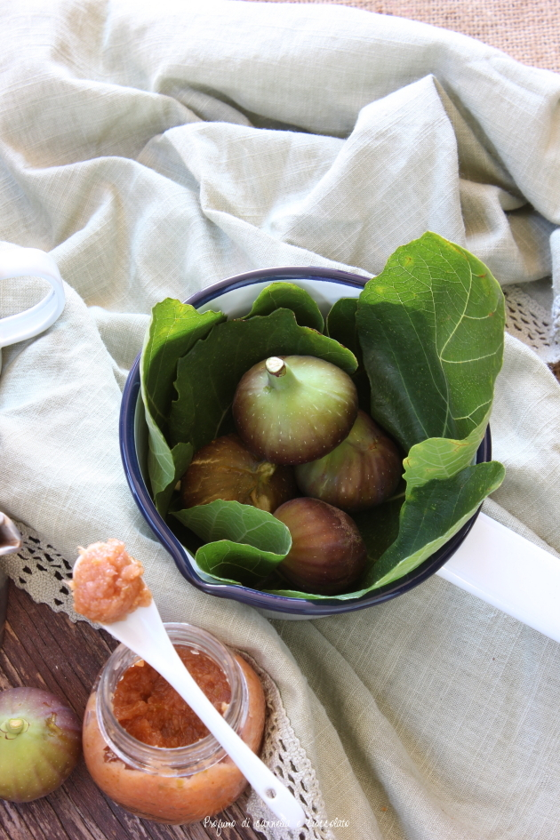 confettura mele e fichi senza zucchero (7)