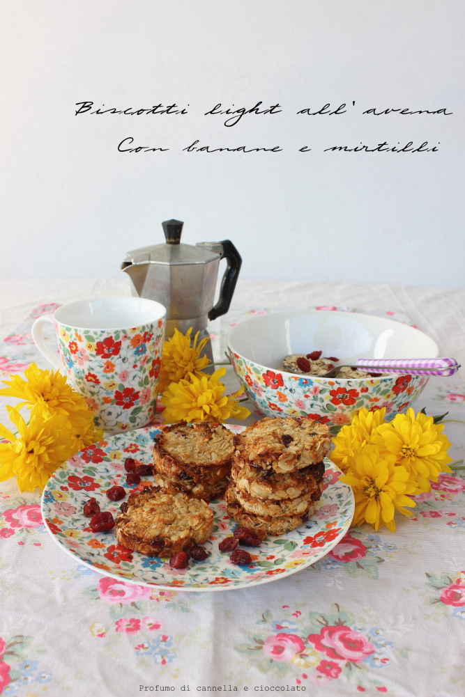 biscotti all'avena ligh e vegan con banana e mirtilli (2)