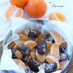 Mandarini ricoperti con cioccolato
