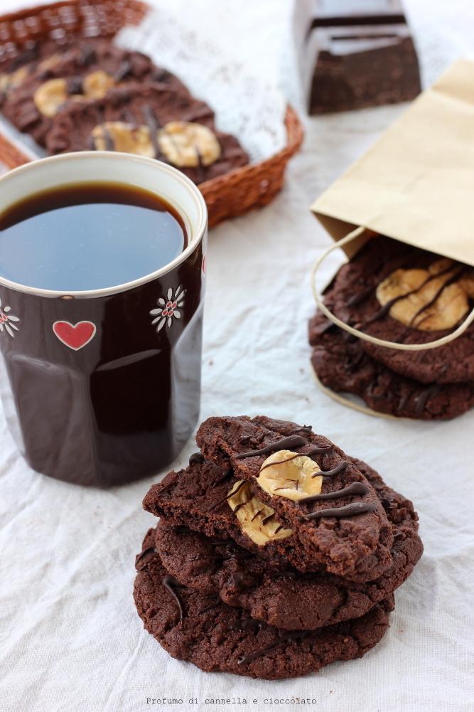 Biscotti al cioccolato e caramelle mou (7)