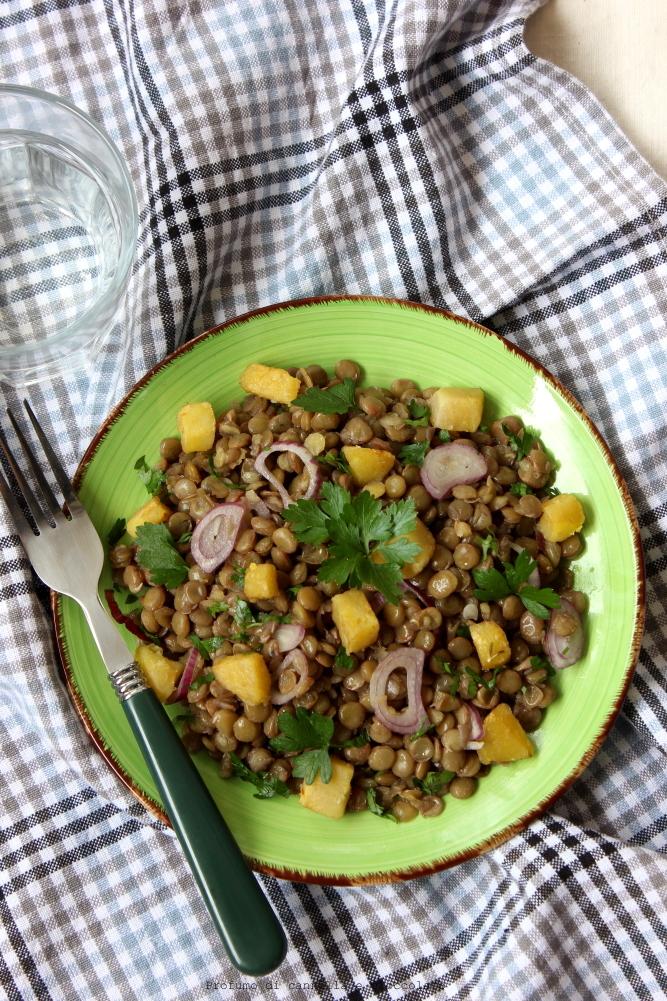 Insalata di lenticchie con patate e cipolla rossa (1)