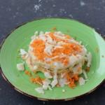 Carrot pancakes con fondutina di parmigiano