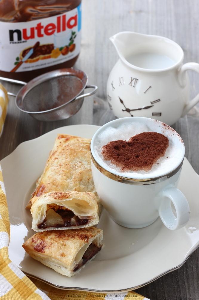abbastanza Nutella pancakes… ripieni | | Profumo di Cannella e Cioccolato EW24