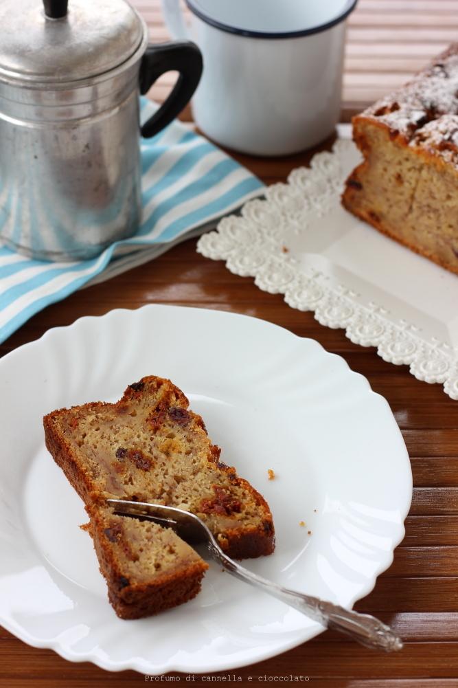 banana bread con uvetta senza burro (7)