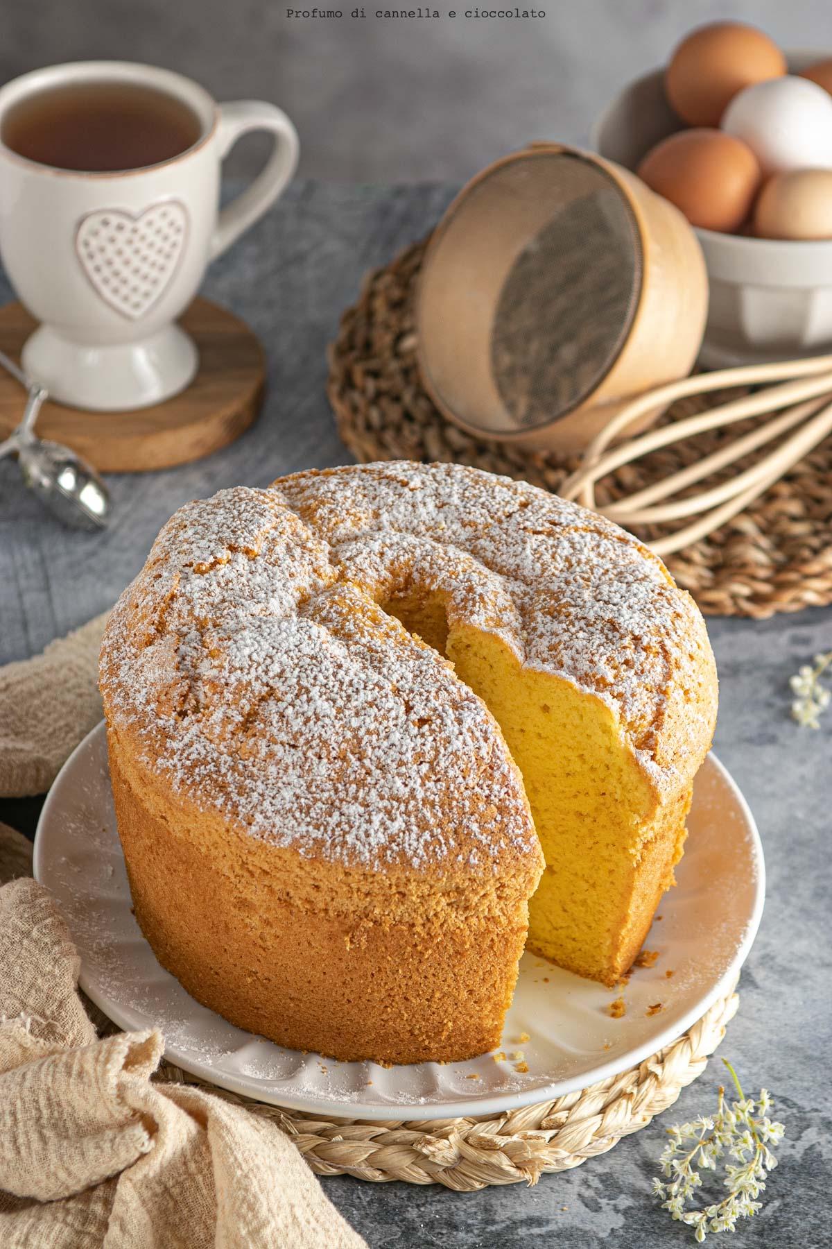 Chiffon cake classica