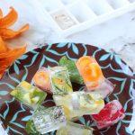 Cubetti di ghiaccio aromatizzati
