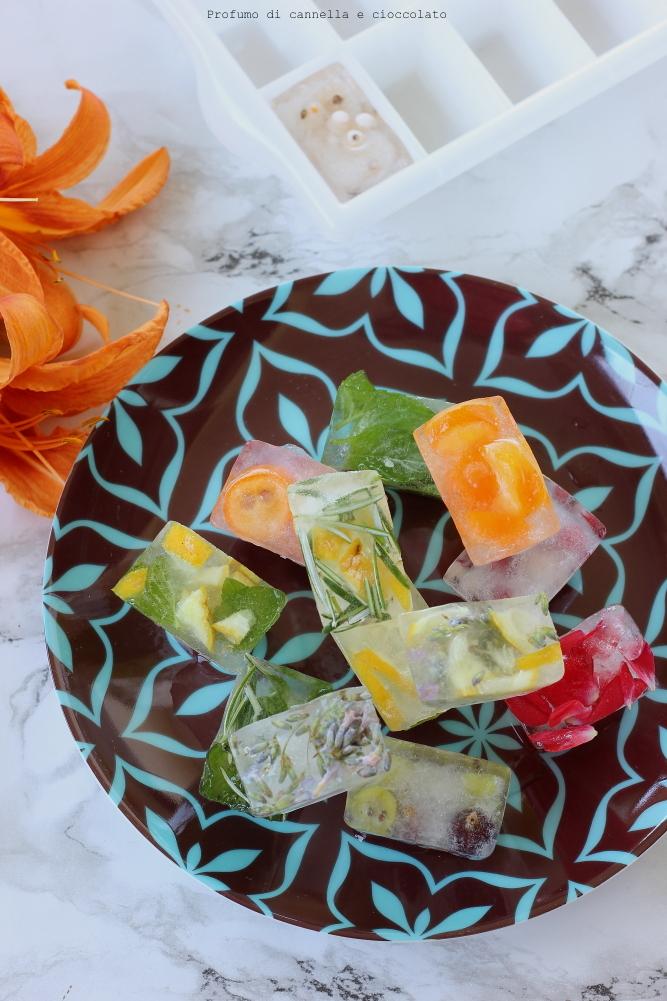 Cubetti di ghiaccio aromatizzati (6)