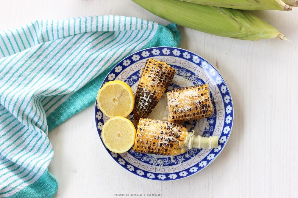 Pannocchie arrostite con grana e limone (1)