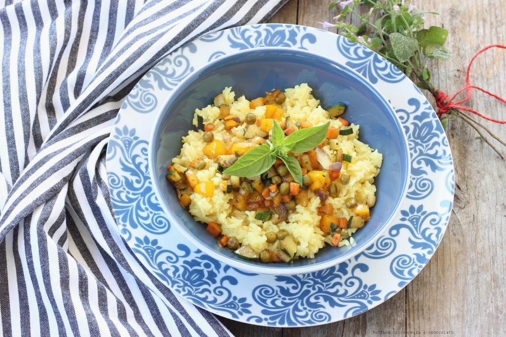 Riso basmati con verdure croccanti e salsa di soia (2)