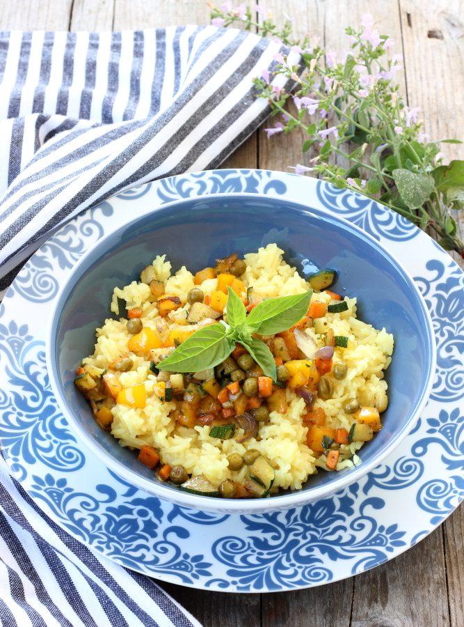 Riso basmati con verdure croccanti e salsa di soia (3)