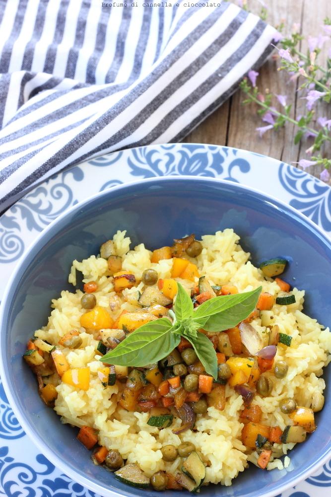 Riso basmati con verdure croccanti e salsa di soia (5)