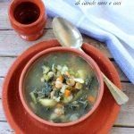 Zuppa di cavolo nero e ceci