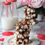 Barrette pop corn e cioccolato