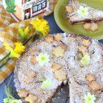 Crostata con mele e confettura di mirtilli