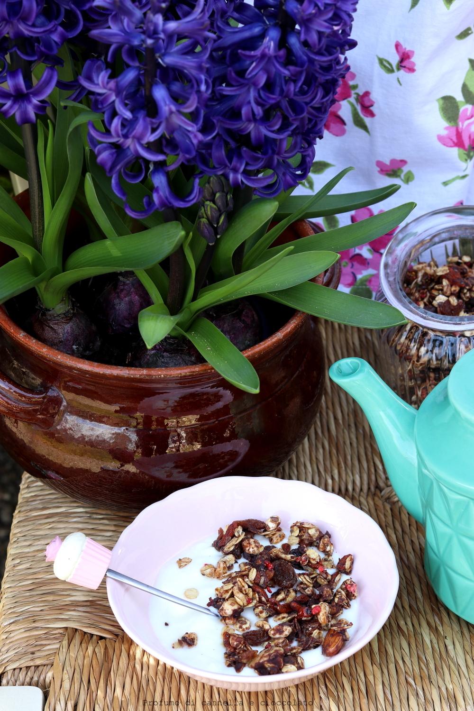 Granola Homemade in padella