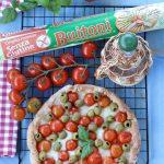 Sfogliata napoletana con pomodorini e mozzarella glutenfree