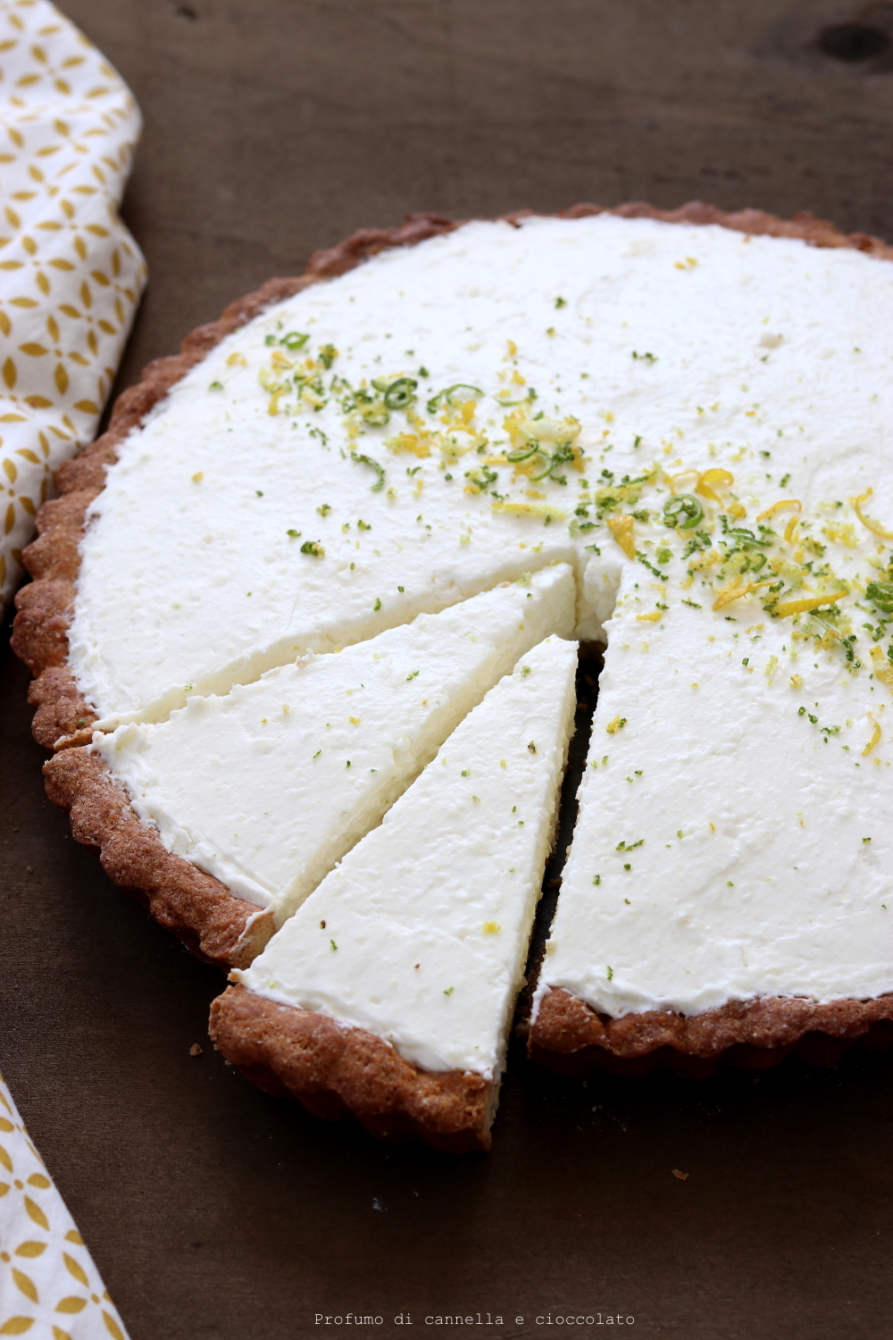 Cheesecake al lime