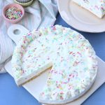 Funfetti yogurt cheesecake