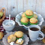 Muffin pere e ricotta
