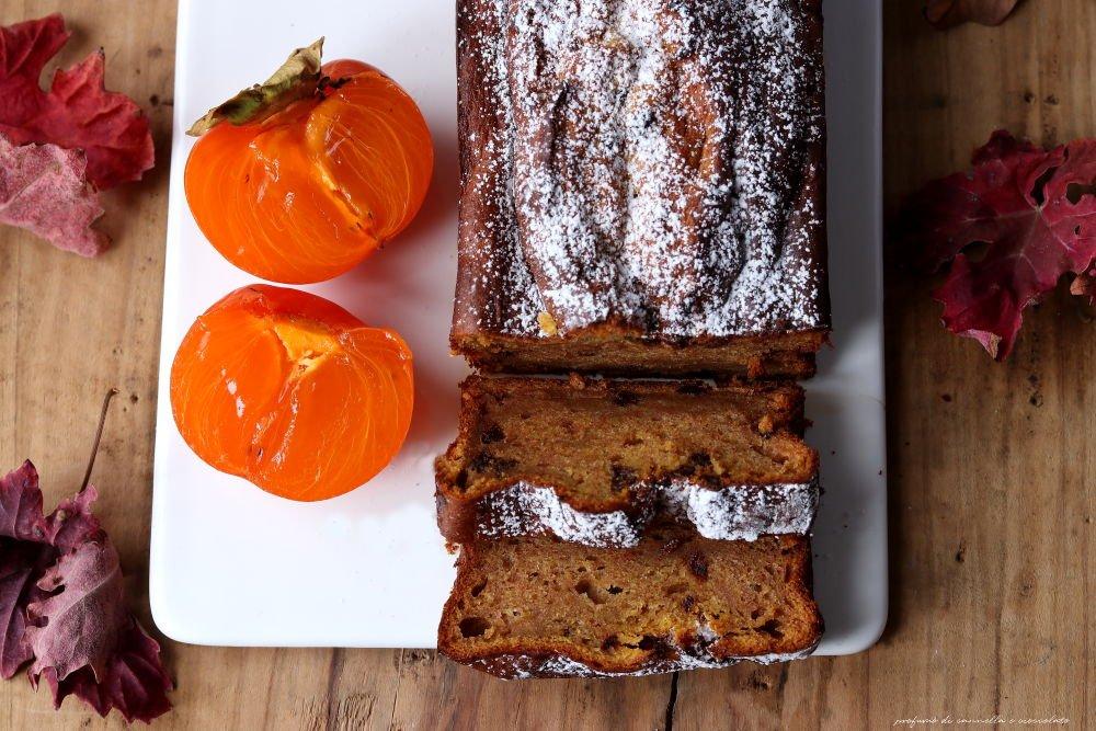 Cachi bread con gocce di cioccolato