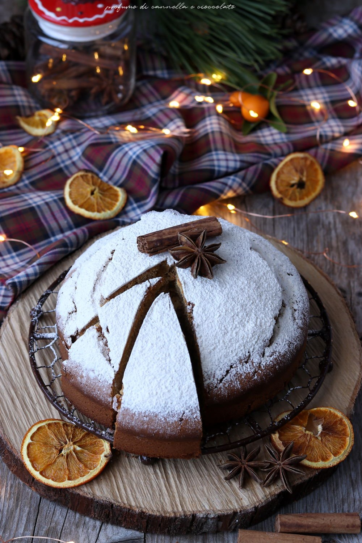 Torta speziata o gingerbread cake