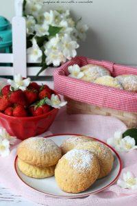Biscotti cuor di fragole