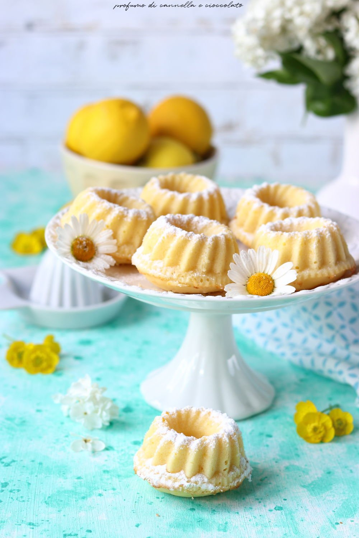 Ciambelline al limone soffici