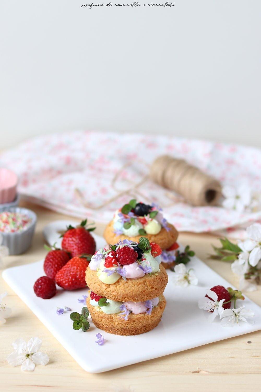 Mini cream tart